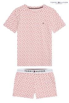 Tommy Hilfiger Pink Original Short Set