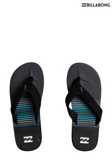 Billabong Black Eternal Theme Sandals