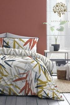 Appletree Blue Kata Duvet Cover and Pillowcase Set