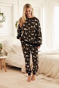 Matching Family Womens Woodland Pyjamas (A08422) | $37