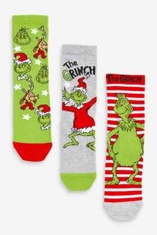 3 Pack Cotton Rich Socks