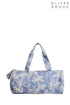 Спортивная сумка с пальмовым принтомOliver Bonas Dinnie