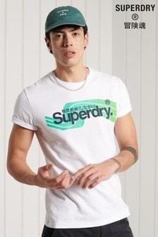 Футболка с логотипом Superdry Core Cali
