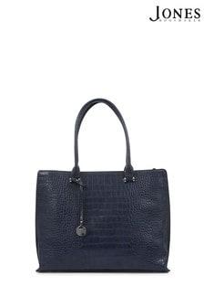 Jones Bootmaker Ashleigh Ladies Croc Print Tote Bag