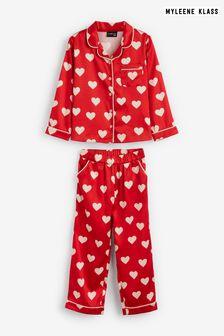 Myleene Klass Kids Heart Print Pyjamas