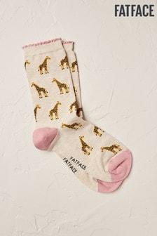 FatFace Giraffe Socks