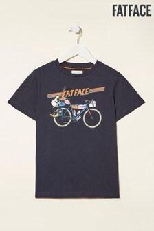 FatFace Retro Bike Graphic T-Shirt