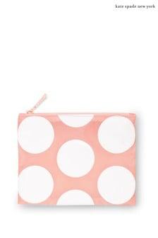 kate spade new york Peach Jumbo Dot Reusable Shopper Tote