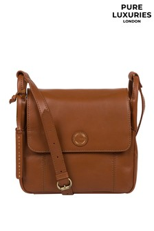 Pure Luxuries London Houghton Leather Cross Body Bag