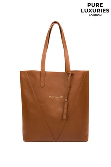 Pure Luxuries London Claudia Leather Tote Bag