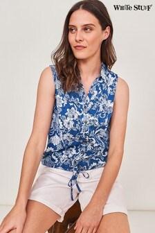 חולצת ג'רזי ג'ינס של White Stuff דגם Flowing Grasses