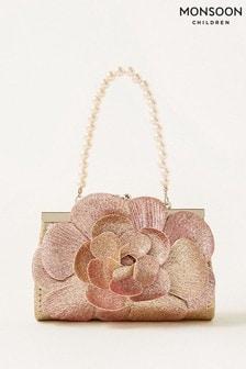 Monsoon Multi Ombre Glitter Flower Mini Bag