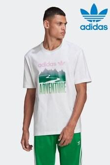 Футболка с логотипом adidas Adventure Mountain