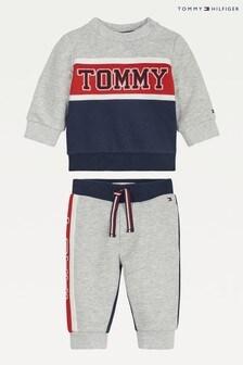 Tommy Hilfiger Blue Baby Colourblock Set