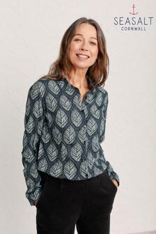 חולצה בצבע ירוק טורקיז דגם Larissa של Seasalt