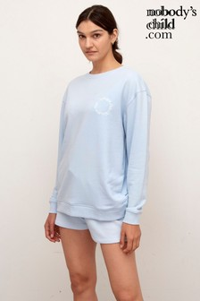 Nobody's Child Powder Blue Longline Sweater