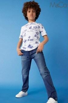M&Co 大男孩黑色休閒牛仔褲