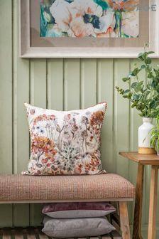 Voyage Orange Hedgerow Cushion
