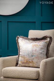Voyage Gold Monet Cushion