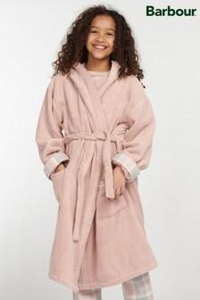 Barbour® Girls Pink Elsie Dressing Gown