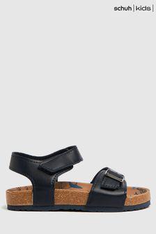 Schuh Navy Thrilling Shark Sandals