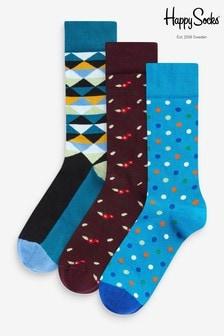 Pack de 3 pares de calcetines Forest de HS by Happy Socks