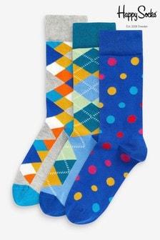 Pack de 3 pares de calcetines clásicos de HS by Happy Socks