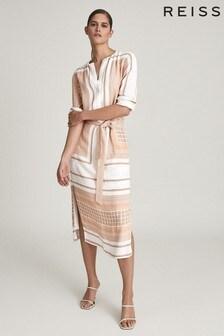 Платье миди с платочным принтом REISSHarper