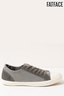 FatFace Grey Charlie Lace-Up Trainers