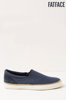 FatFace Blue Sidney Slip-On Trainers