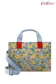 Вместительная сумка с двумя короткими ручками и длинным ремешком с цветочным принтом Cath Kidston Vale The Little Sidekick