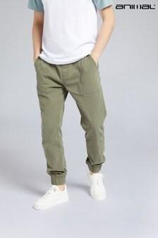 Animal Mens Dean Organic Twill Trousers