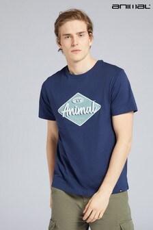 Футболка из биохлопка с логотипом Animal Diamond (для мужчин)