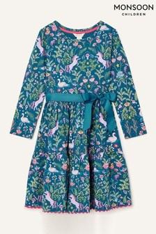Monsoon Blue Fantastical Dress