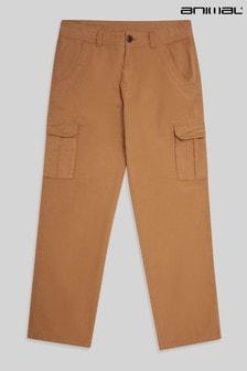 Animal Mustard Merrick Organic Men's Cargo Trousers