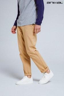 Animal Beige Declan Organic Mens Chino Trousers