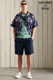 Superdry Linen Blend Sunscorched Shorts