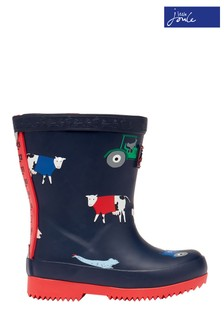 Joules Baby Print Tall Printed Wellies
