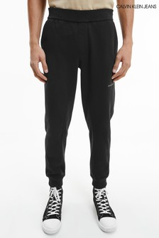 Calvin Klein Jeans Black Off Placed Iconic Joggers