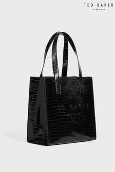 Компактная сумка с отделкой под крокодиловую кожу Ted Baker Reptcon (узнаваемая модель)