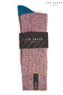 Ted Baker Popzu Heavyweight Socks In Twisted Yarns