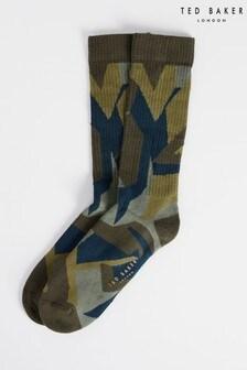 Ted Baker Itsfine Camo Socks