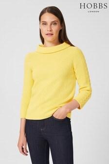 Hobbs Yellow Camilla Sweater