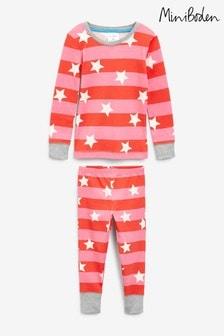 Boden Pink Snug Glow-in-the-dark Pyjamas