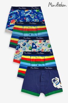 Boden Blue Boxers 5 Pack