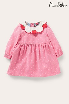 Boden Apple Collar Cord Dress