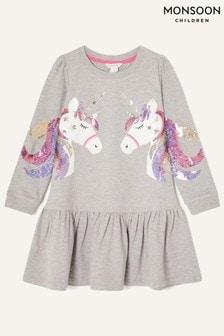 فستان رياضي وحيد القرن بترتر منMonsoon