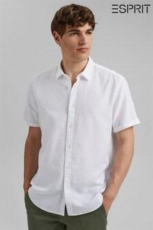 Esprit Organic Cotton Short Sleeved Shirt