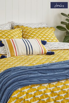 Joules Coastal Cable Throw