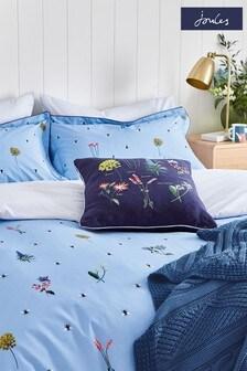 Joules Blue Pollinators Cushion